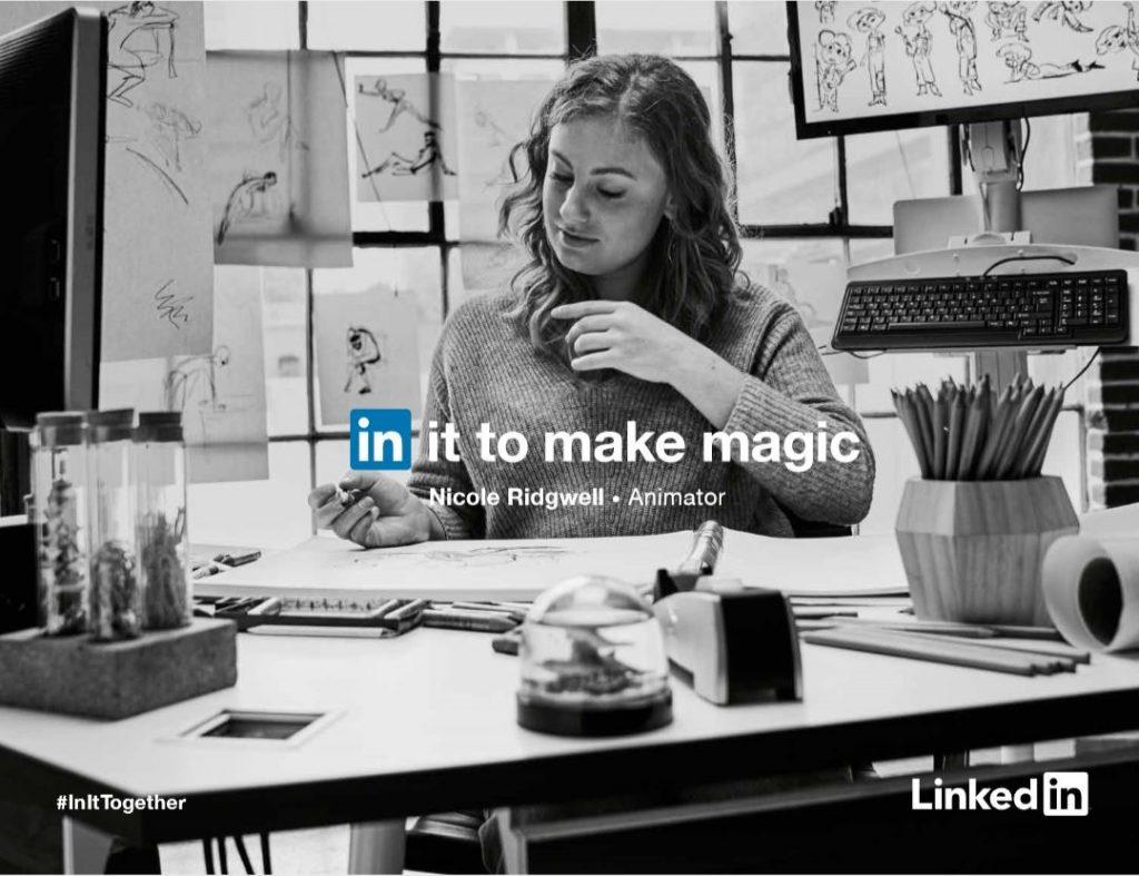 """حملة اعلانية من LinkedIn بعنوان """" In It Together """""""