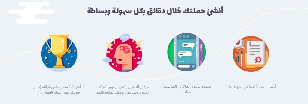 يمكنك انشاء حملة التسويقية وتنفيذها بنجاح مع عربوست