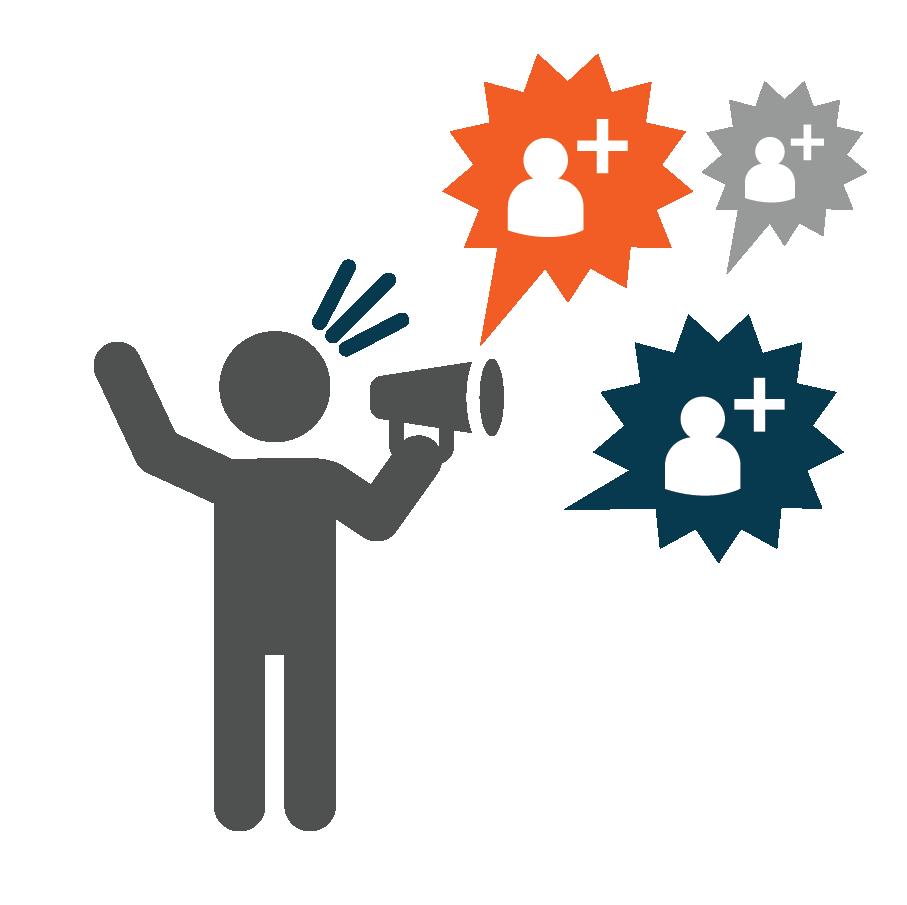 يمكن زيادة متابعينك عبر الانضمام الى منصة عربوست للتسويق المؤثر
