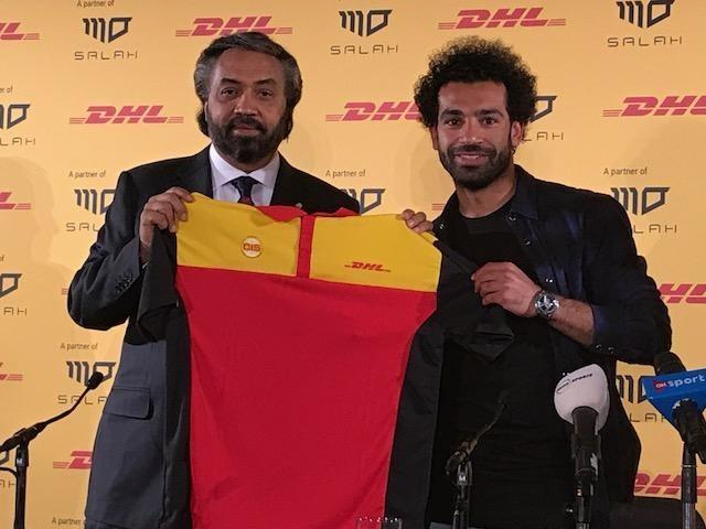 محمد صلاح كسفير لشركة DHL Express للشحن السريع