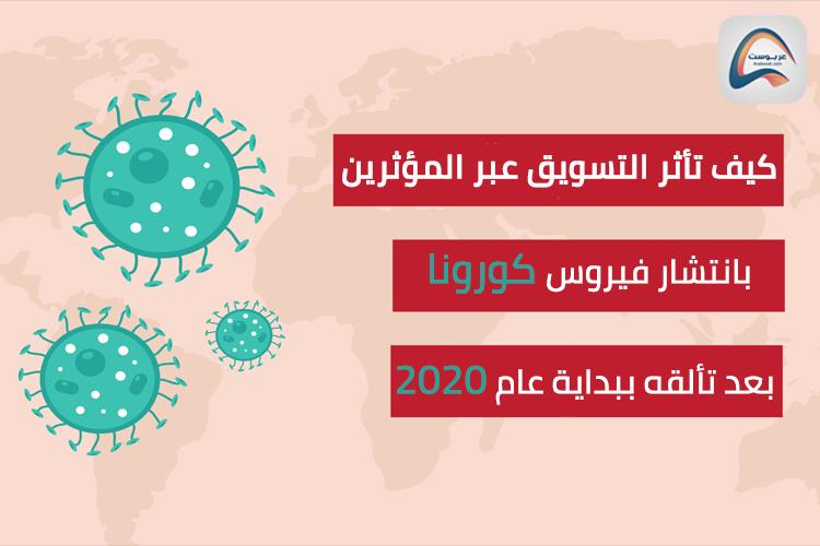 هل تأثر التسويق المؤثر بانتشار فيروس كورونا المستجد في عام 2020 ؟