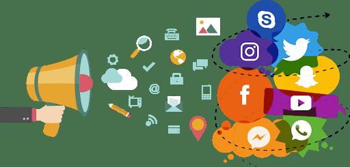 من خلال حملة تسويقية مؤثرة يمكنك استهداف العديد من وسائل التواصل الاجتماعي